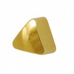 Kolczyki złoty Trójkąt