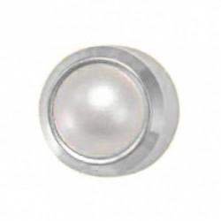 Kolczyki Srebrny Perła Biała
