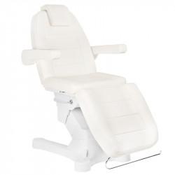Fotel Kosmetyczny Elektry. A-207 White/Ivory (4 SILNIKI)