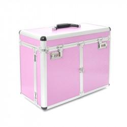 Kuferek Kosmetyczny S - Duży Pink