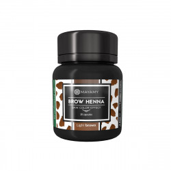 Brow Henna Skin Color Effect Pudrowa Classic Brown