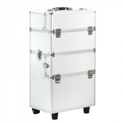 Kuferek kosmetyczny z wózkiem XL