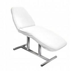 Prześcieradło na fotel kosmetyczny frotte Białe